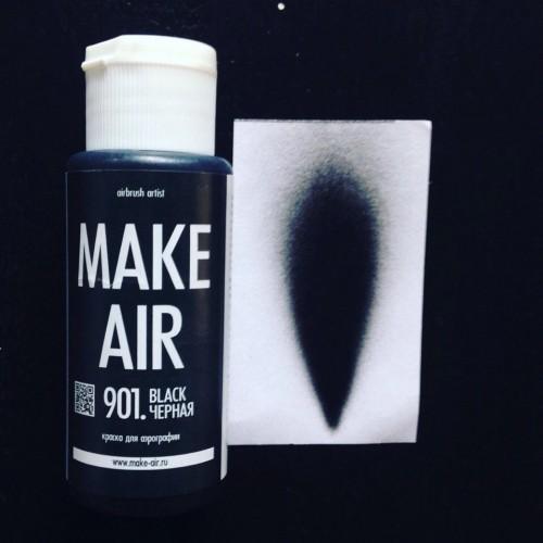 Краска для боди-арта и аквагрима MAKE AIR airbrush- 901 60 мл
