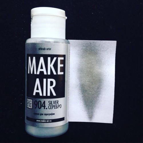 Краска для боди-арта и аквагрима MAKE AIR airbrush- 904 60 мл
